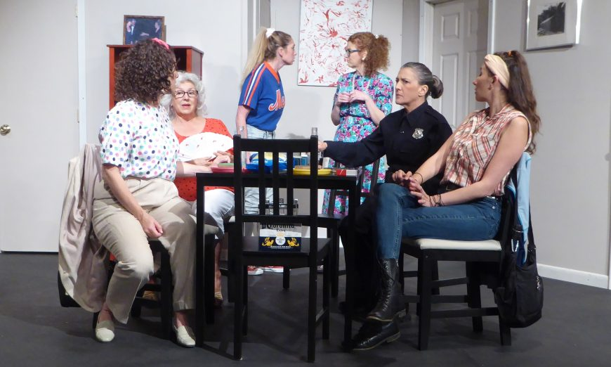"Santa Clara Players are performing Neil Simon's Comedy ""The Odd Couple."" However, they are doing the modern version, the female version."