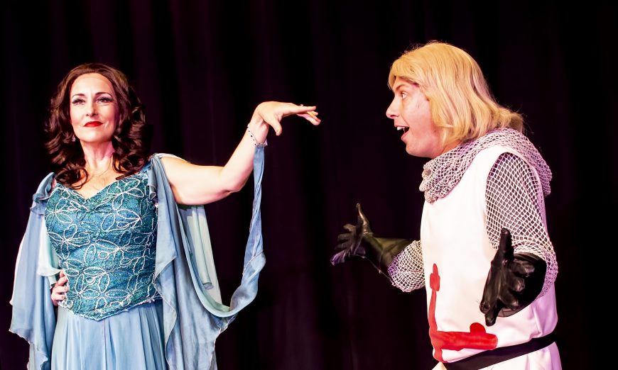 The Woodside Community Theatre is showing the beloved musical, Monty Python's Spamalot, from October 15 - November 2.
