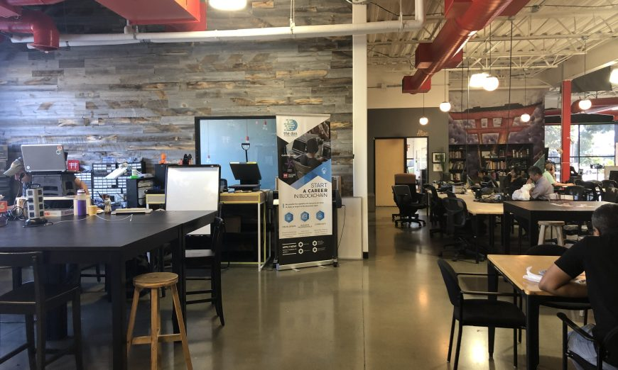 Hacker Dojo has been a non-profit in Santa Clara for 10 years. The Hacker Dojo provides co-working space and other resources.