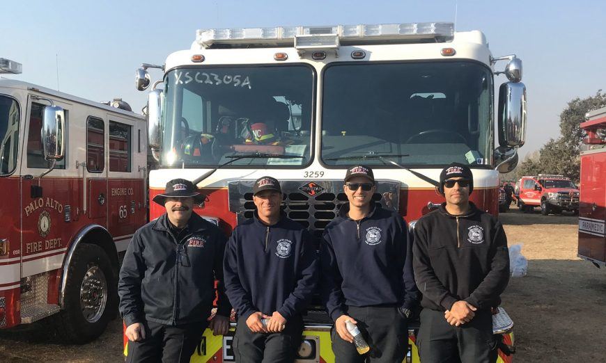 Santa Clara is providing dispatchers and mutual aid for the Sonoma County Kincade Fire. The SCFD is part of the state's master mutual aid program.