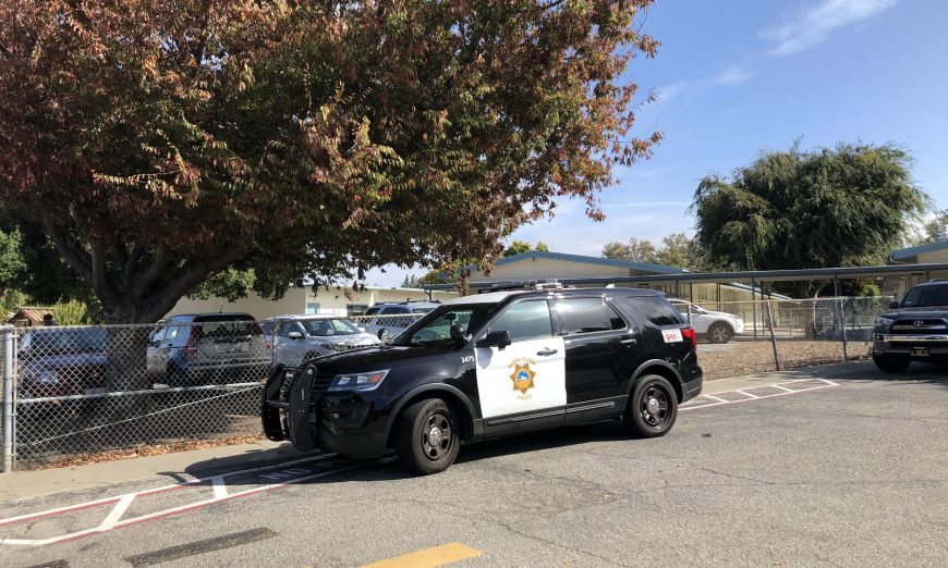 Three Santa Clara schools were placed on a brief Shelter in Place after a suspicious device was found and was investigated by local police.