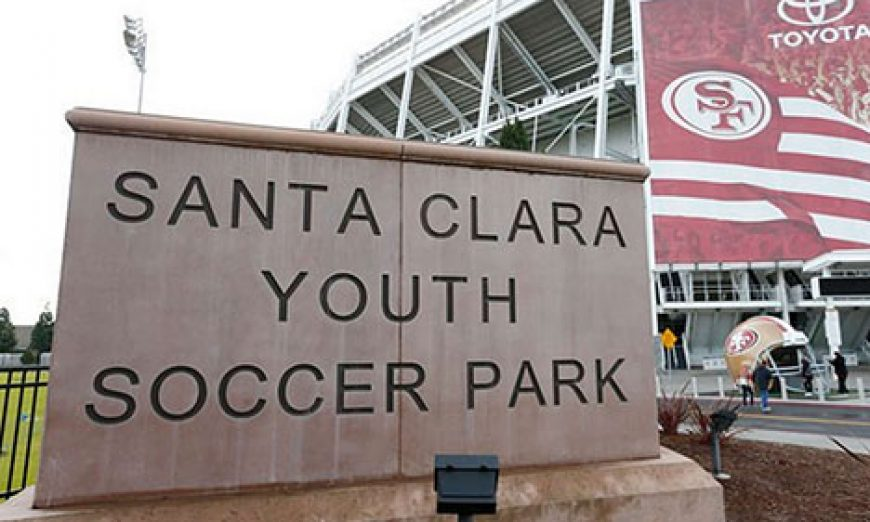 The Santa Clara Youth Soccer Park has been free for a decade. The City has no plans on charging. The fields are used by the Santa Clara Youth Soccer League.