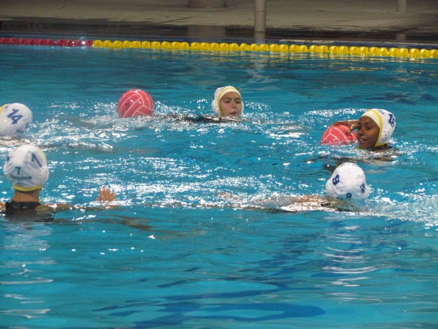 The Santa Clara Bruins Water Polo Squad Head Coach Aja Bumbaca talks about her team's performance against the Milpitas Trojans.