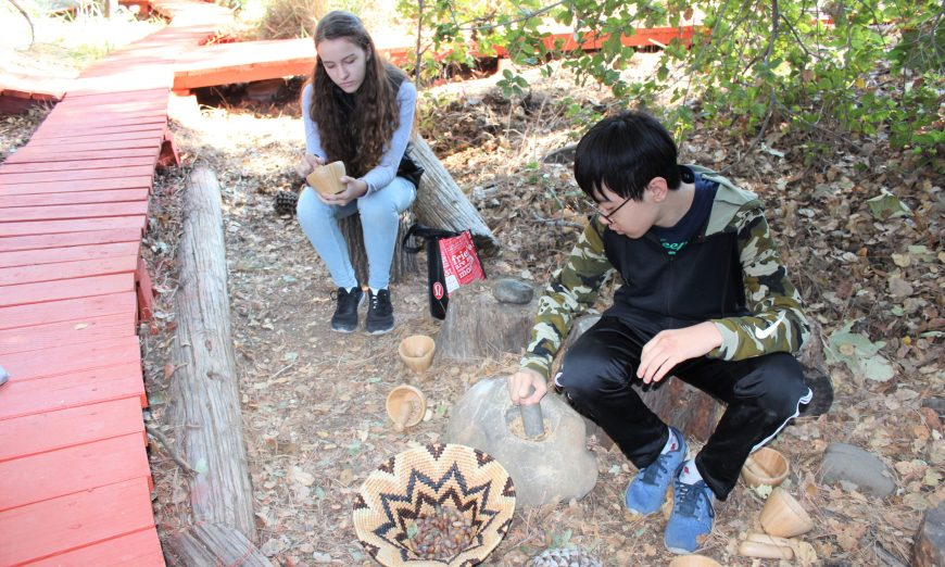 The Peterson Middle School community and SCUSD gathered to celebrate the Bryan Osborne Nature Area on their 50th anniversary.