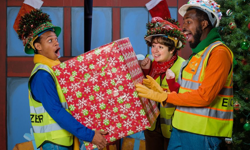 "The Bay Area Children's Theatre is performing ""Construction Site on Christmas Night,"" a great show for children this Holiday Season."
