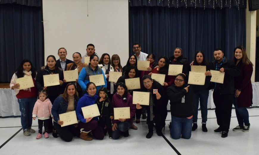 Ellis Elementary School families got free laptops through a digital literacy program by Columbia Neighborhood Center and Sunnyvale School District.