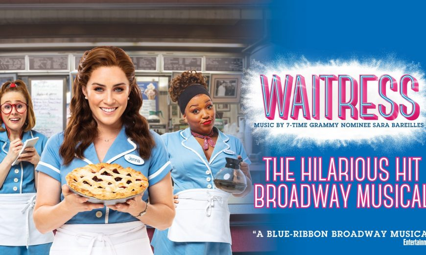 Broadway San Jose welcomes Waitress for a limited run. The popular Broadway musical will be showing at the San Jose's Center for the Performing Arts.