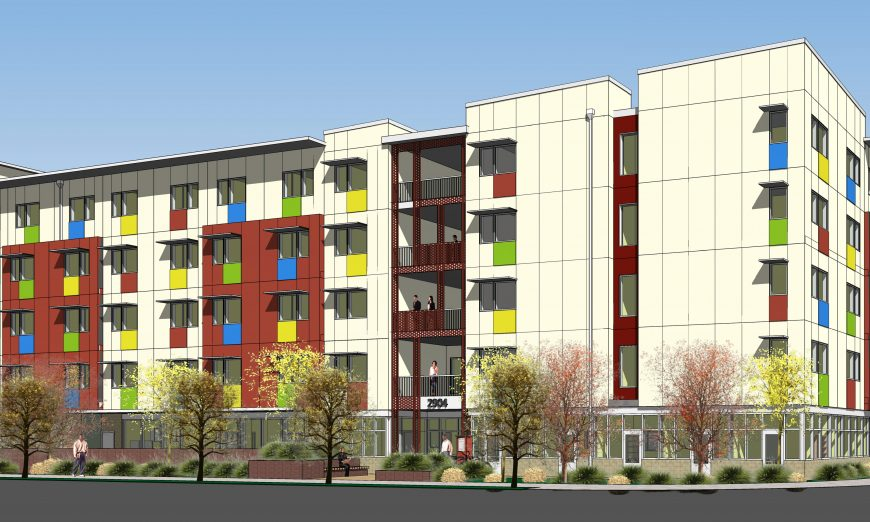 The Calabazas Community Apartments, affordable supportive housing, had a gound breaking event in Santa Clara. New affordable housing is on the way.