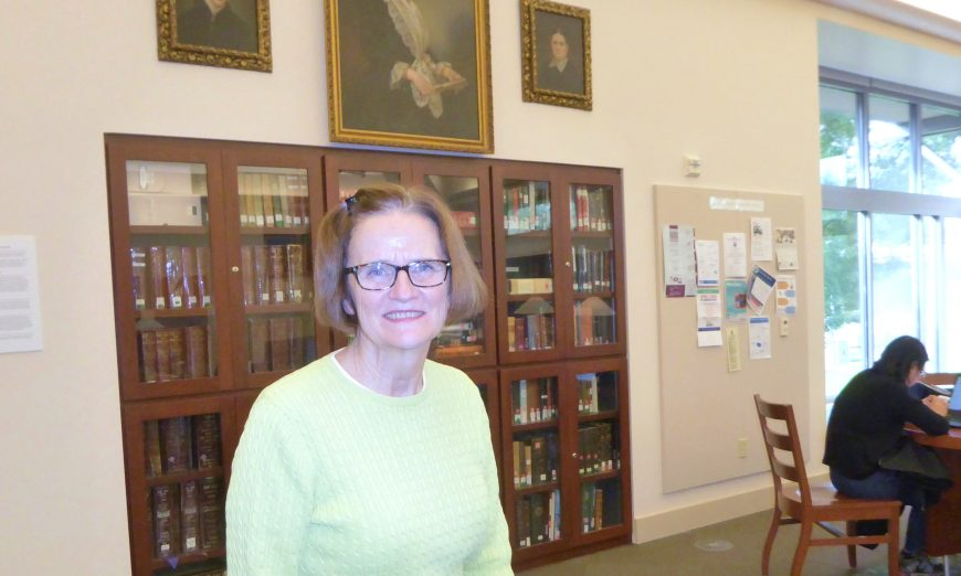 Local Librarian Mary Boyle has worked at Santa Clara libraries for decades. As she retires, she reflects back on her time as a Librarian.