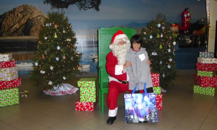 Mr. Bob Buchser is actually Santa Claus to many Bay Area kids. He plays Santa at Rotary Club of Santa Clara's Christmas for Kids.