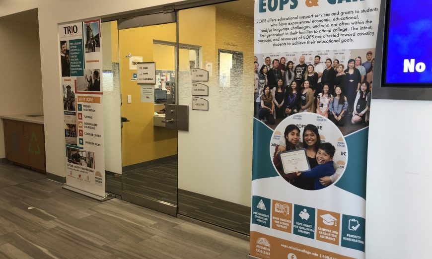 Mission College and the Extended Opportunity Programs and Services (EOPS) program are here for students who need some extra help to get through college.