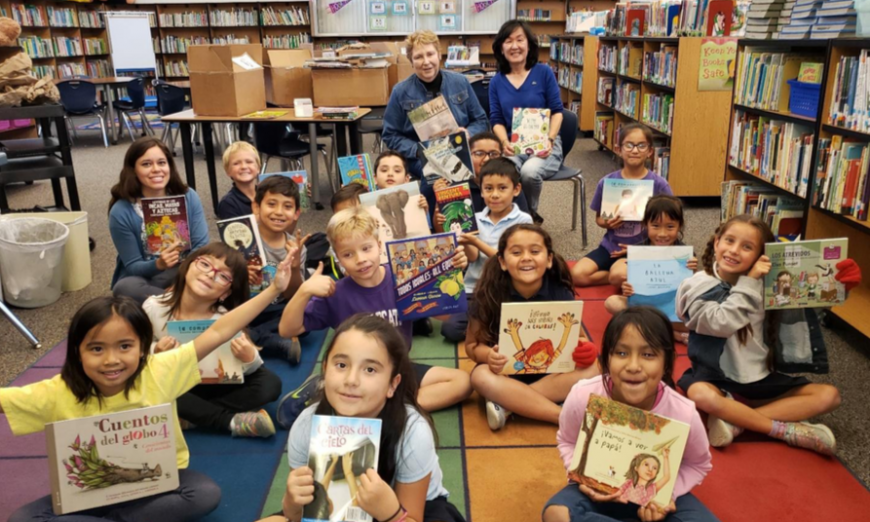 The Assistance League of Los Altos gave $33,000 worth of goods and services to five schools in the Sunnyvale School District.