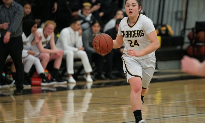 Elise Corwin is the Wilcox Chargers' team captain on two teams — she's the captain of the volleyball team and the basketball team.