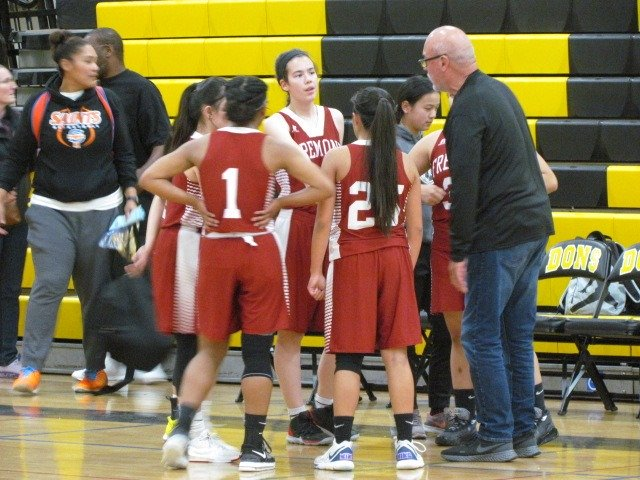 The Fremont Firebirds participated in the John Araujo Memorial Tournament. Fremont player Kyra Brosnahan played well without many other teammates.