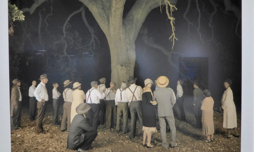 Artist Ken Gonzales-Day and his work called Erased Lynching and California Hang Tree, are now showing at Santa Clara University.
