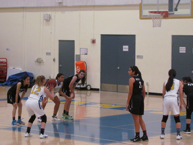 The Homestead Mustangs and the Santa Clara Bruins played a basketball earlier this week. The Mustangs secured the win that night.