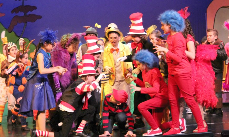 Washington Open Elementary School's Drama Program presents Seussical The Musical. The musical is a mix of Dr. Seuss books on stage.