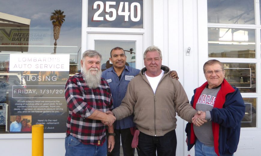 Don Lombardi is retiring and closing down the well-known Lombardi's Auto Service shop. The Santa Clara business has always been family owned.