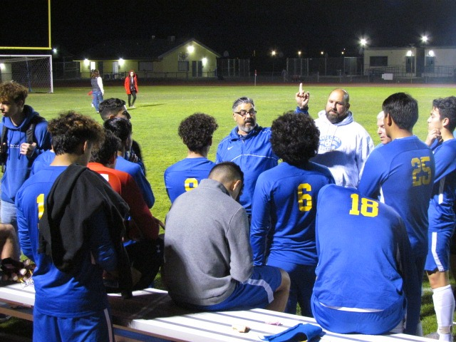 The local Santa Clara Bruins soccer team is very close to getting a League Title. This is the closest they've been in years.