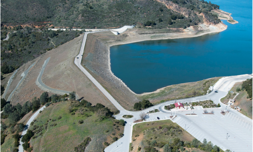 Anderson Reservoir is to be emptied. The Federal Government says the dam would not be able to survive a bad earthquake, like the Loma Prieta.