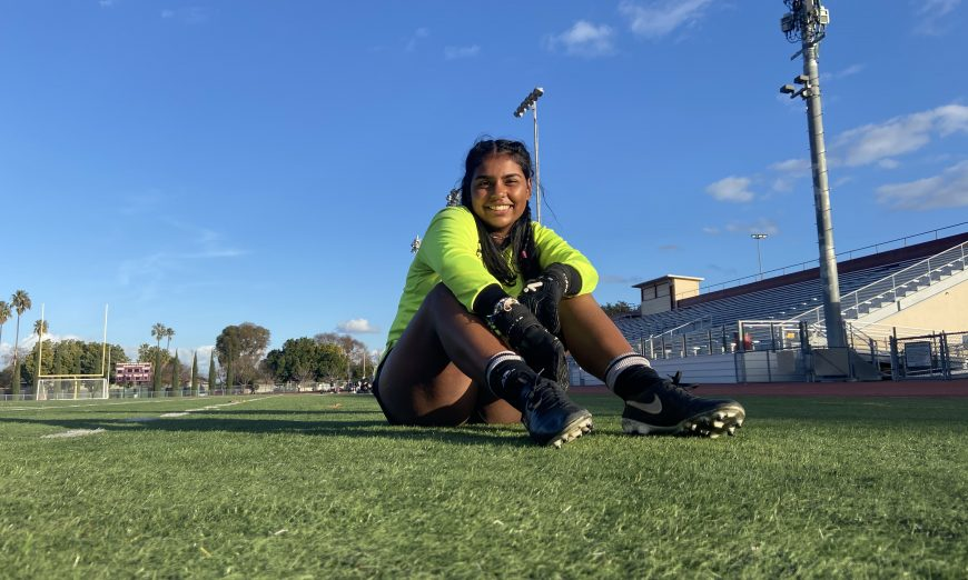 Guppy Uppal reflects on her senior season with the Fremont Firebirds soccer squad. She is the Firebird's star goalkeeper.