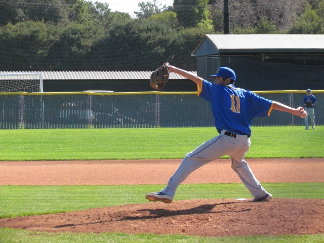 Santa Clara Bruins baseball team and their starting pitcher Marc Lujan are in preseason and are working hard to better their game.