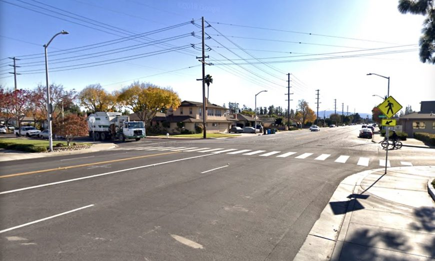 Santa Clara City Council approved a pedestrian light for Scott Boulevard. Natalie Guzzetti has been lobbying for a light. They're getting a HAWK beacon.