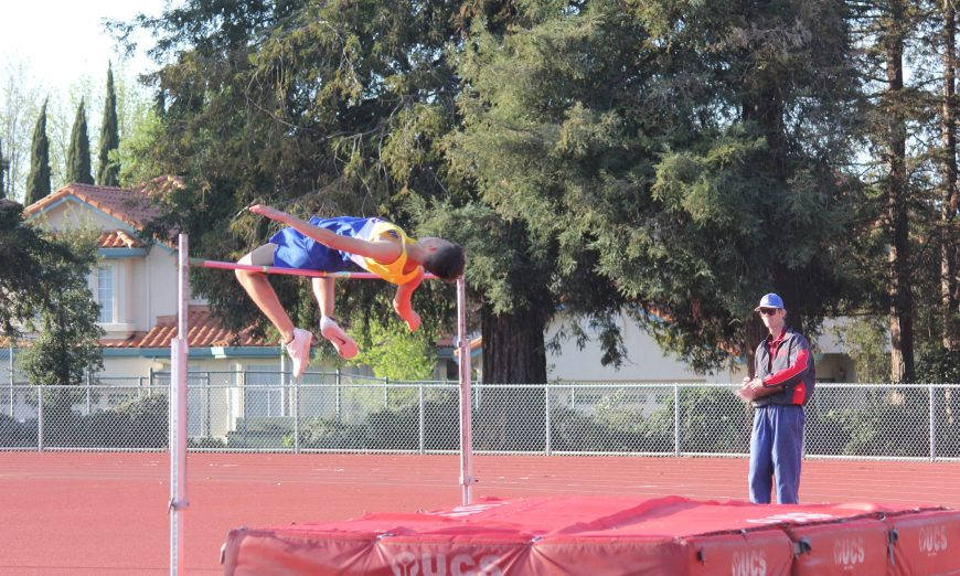 Santa Clara senior Jack Fukuda was a top Bruins athelete. He refelcts on his High School career as a high jumper and hurdler and on the basketball team.