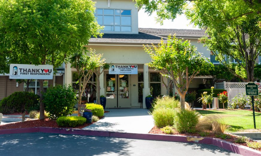 Pacific Gardens, a local Long-Term Care Facility, is suffering from a COVID-19 outbreak that is affecting both their seniors and staff.