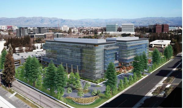 The Santa Clara Planning Commission approved a variance for the redevelopment of a Peterson Way office project by Boston Properties.
