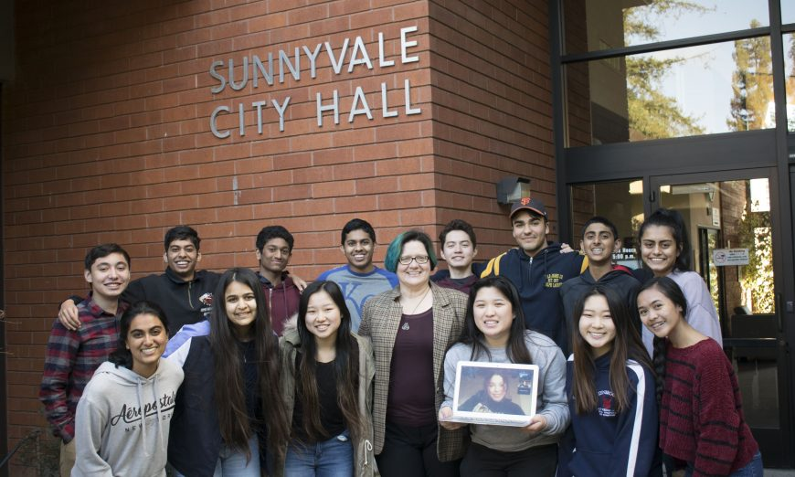 The Youth Public Policy Institute and the Sunnyvale Vice Mayor worked together to help Seniors during the COVID-19 shelter in place.