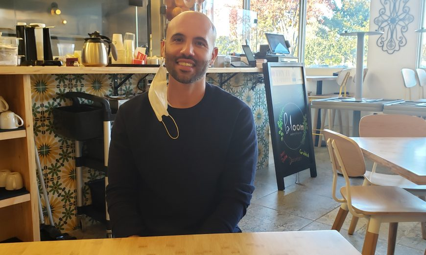 Santa Clara Native Reza Manion has opened Bloom Eatery restaurant during the COVID-19 pandemic. They are currently doing takeout meals.