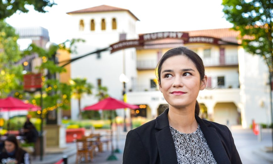 Alysa Cisneros recently won and earned a seat on the Sunnyvale City Council. She is now representing Sunnyvale's District 2.