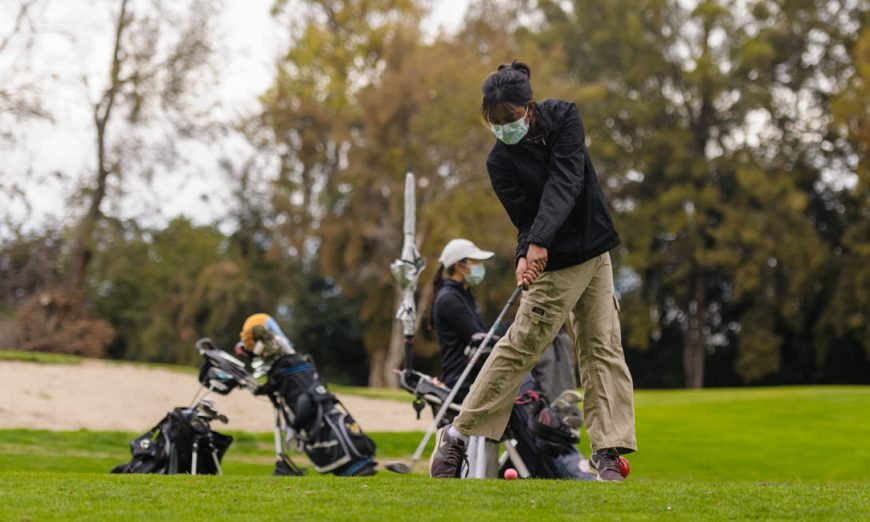 Wilcox Chargers golf team took on the Los Altos Eagles golf team. Anika Yadav talks about her game on Tuesday at Sunnyvale Municipal Golf course.